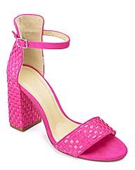 Sole Diva Heel Sandal EEE Fit