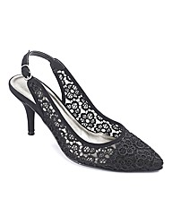 Sole Diva Slingback Court E Fit