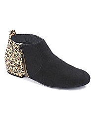 Catwalk Collection Ankle Boot E Fit