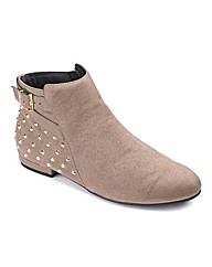 Sole Diva Studded Boot E Fit