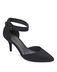 Sole Diva Ankle Strap Court Shoe E Fit