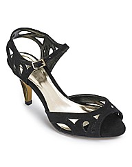 Sole Diva Cut Out Sandal E Fit