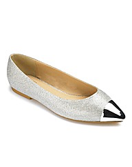 Catwalk Sparkle Pump EEE Fit