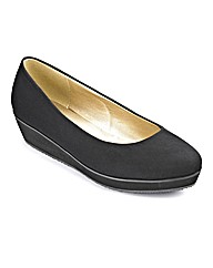 Sole Diva Plain Flatform EEE Fit