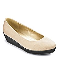 Sole Diva Plain Flatform E Fit