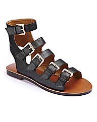 Multi Buckle Sandal E Fit