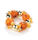 Petal Dolls Orange Bracelet