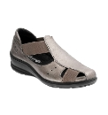 Padders Pewter Vivian Summer Casual Shoe