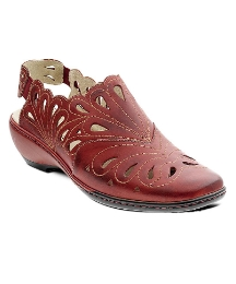 Padders Jazzy Red Sancha Close Toe Shoe