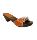 Cafe Noir Orange Mules