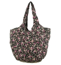Rocket Dog Lily Black Floral Eco Shopper