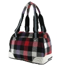 Rocket Dog Daisy Red Plaid Bowling Bag
