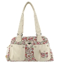 Rocket Dog Lilac Red Chloe Handbag