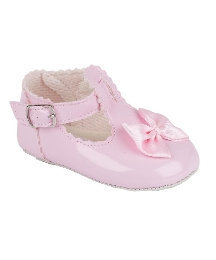 Baypods Girls Buckle Pram Shoes