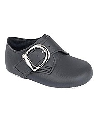 Baypods Boys Buckle Pram Shoes