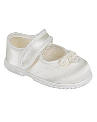 Early Days Ivory Special Ocassion Shoes
