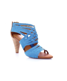 J Shoes Blue Fervor Open Toe Sandals