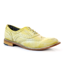 J Shoes Yellow Charlie Brogues