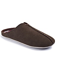 Hamnett Gold Mens Slip On Mule
