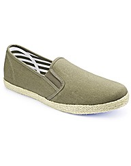 Label J Espadrille Slip On Standard Fit