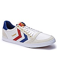 Hummel Lace Up Canvas Trainers