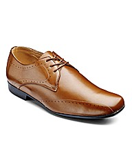 Jacamo Punch Detail Shoes Extra Wide Fit
