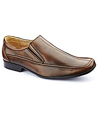 Jacamo Slip On Shoes Extra Wide Fit