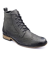 Jacamo Brogue Lace Up Boots Standard Fit