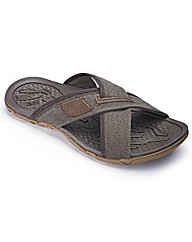 Caterpillar Cross Over Sandals