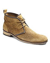 Label J Slouchy Desert Boot Wide Fit