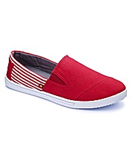 Joe Browns Slip On Pumps Extra Wide Fit
