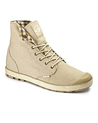 Palladium Lace Up Hemp Boots