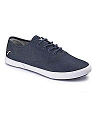 Voi Chambray Lace Up Shoe