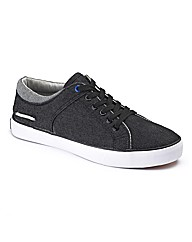Deakins Lace Up Cord Casual Pumps