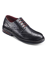 Label J Cleated Sole Brogue Shoes