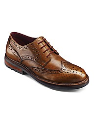 Label J Cleated Sole Brogue Shoe