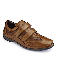 Brevitt Touch & Close Shoes Wide Fit
