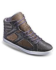 Label J Hi-Top Trainers Standard Fit