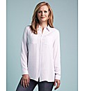 edit Diamante Collar Shirt