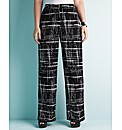 edit Printed Wide Leg Trouser 29in Leg