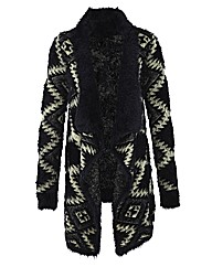 Edit Jacquard Ethnic Cardigan