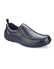 Hush Puppies Slip On Shoes Dual Fit