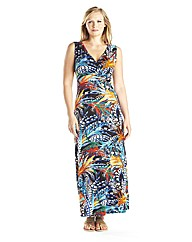 edit Printed Maxi Dress