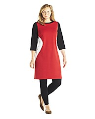 Edit Colour Block Shift Tunic