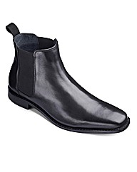 Black Label Chelsea Boots Wide Fit