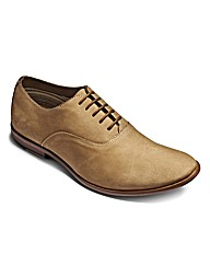 Hamnett Gold Lace Up Oxford Shoes Wide