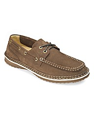 Lace Up Boat Shoes By Air Cool Wide