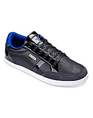 Voi Lace Up Patent Trim Trainers