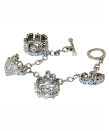 Tiara Four Charms Bracelet