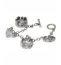 Tiara Four Charms Bracelet